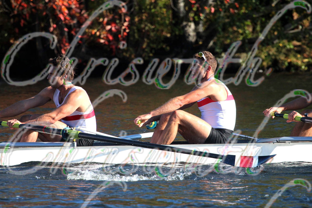 12th place for California Rowing Club in the Championships Eights Men at the Head of the Charles River Regatta on October 20 2013.
