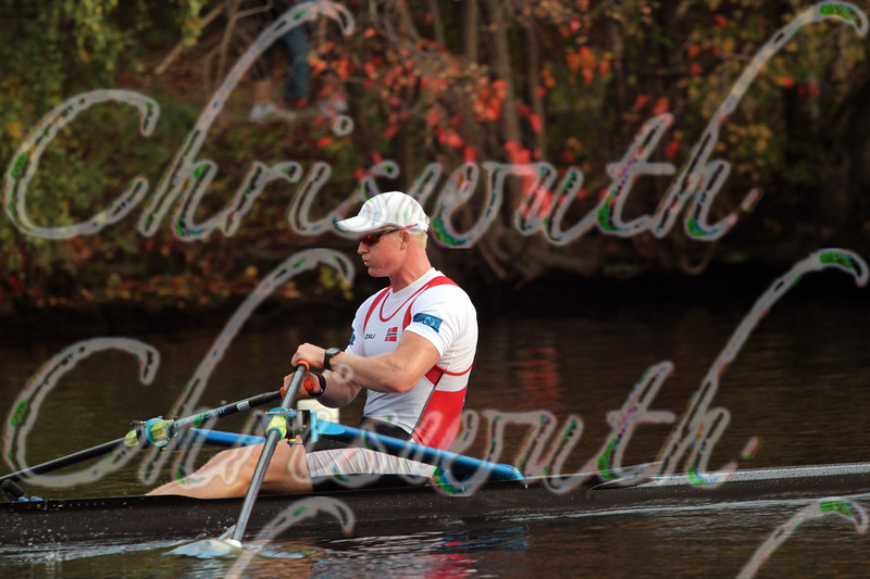 2nd place for Kjetil Borch from the Horten RK, in race 28 - Men's Championship Singles - at the 50th Head Of The Charles on October 19 2014.
