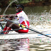 26eme place pour la Federation d'Aviron du Benin. 26th place for Benin Rowing Federation (P. Hinkati), in race 28 - Men's Championship Singles - at the 50th Head Of The Charles on October 19 2014.