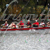 Community Rowing, Inc. competing in race 24 - Men's Master Eights (40+) - at the 52th Head of the Charles on October 22 2016.