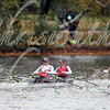 4th place for Olympians Carling Zeeman, from Sudbury Rowing Club, Canada, and Jeannine Gmelin, from Ruderclub Uster, Switzerland, in race 27 - Women's Championship Doubles - at the 52th Head of the Charles on October 22 2016.