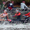 University of Miami competing in race 19 - Women's Club Eights- at the 52th Head of the Charles on October 22 2016.
