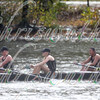 U.S. Military Academy Crew - Westpoint competing in race 19 - Women's Club Eights- at the 52th Head of the Charles on October 22 2016.