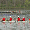 Stony Brook novice women's 4. NYS College Championships 2010, May 1, Whitney point, Dorchester Park.