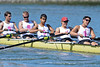 Men Freshman 8 at the Big Row, Cal vs. Stanford, 2012-04-28, Redwood Shores, CA