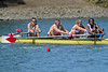 Women V4 at the Big Row, Cal vs. Stanford, 2012-04-28, Redwood Shores, CA