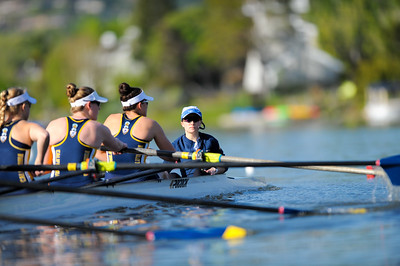 Cal Women Rowers at Pac-12 Challenge, 2017-04-01