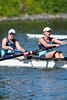 Cal Women W2V4 at the Big Row, Cal vs. Stanford, 2012-04-28, Redwood Shores, CA