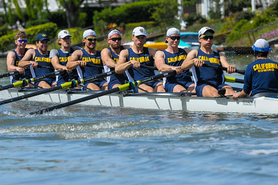 California Men's Rowing at the 2017 Stanford Invitational, 2017/4/15