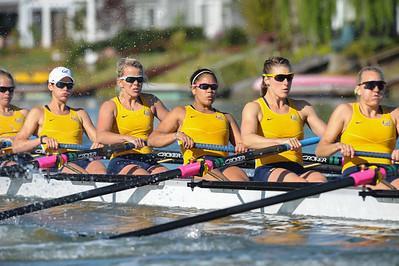 California Women's Rowing vs. Washington, April 26, 2014