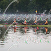 Early Morning Training for the USA Heavy Weight Women's Quadruple Sculls on Saturday October 16 2017