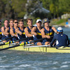 California Men's M2V8 Rowing Team lost to University of Washington at Redwood Shores, CA,  2014-04-26