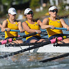 California Women's Rowing W2V8 beat the University of Washington with a time of 6:46.84 at Redwood Shores, CA,  2014-04-26