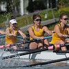 California Women's Rowing WN8 lost to the University of Washington at Redwood Shores, CA,  2014-04-26
