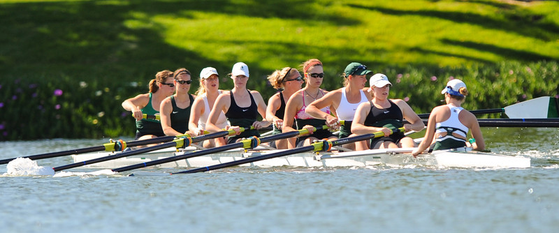 Michigan State V8 at the Stanford Women's Invitational at Redwood Shores, 2012-04-21