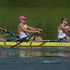 Orange Coast College MV8 rowing team competes.