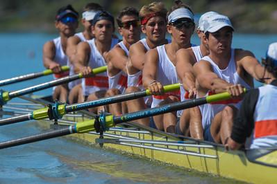 Orange Coast College MV8 @ 2015 Stanford Invitational Rowing Classic, Redwood Shores, CA