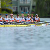 Orange Coast College Men's Crew at the 2017 Stanford Invitational Row, 2017.