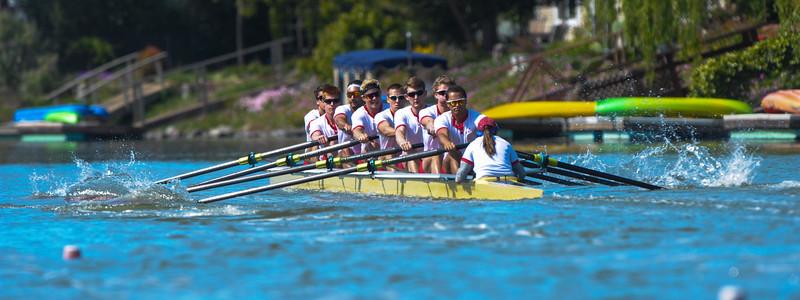 Santa Clara MV8 @ 2015 Stanford Invitational Rowing Classic, Redwood Shores, CA