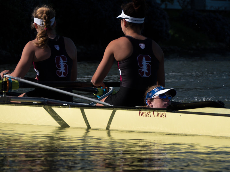 Stanford Varsity Women at the 2016 Pac-12 Challenge  Redwood Shores CA, USA.