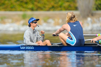 U of San Diego Men's Rowing at the 2017 Stanford Invitational, 2017/4/15