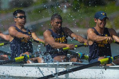 UC Irvine MV8 @ 2015 Stanford Invitational Rowing Classic, Redwood Shores, CA