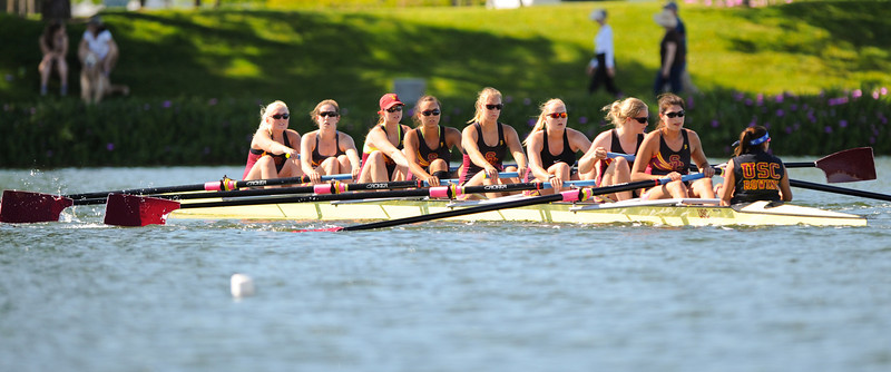 USC V8 at the Stanford Women's Invitational at Redwood Shores, 2012-04-21