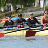 USC Trojan's Women's Rrowing 2V8 falls to Stanford Cardinal at Redwood Shores, CA, 2014-04-26
