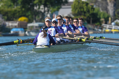 University of Washington Men's Rowing  vs. California,  April 26, 2014