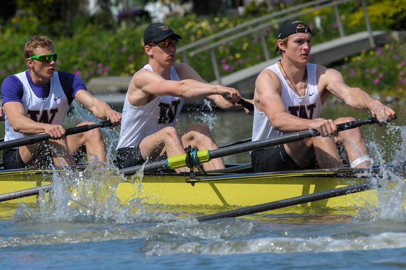 Washington Men's Rowing at the 2017 Stanford Invitational Row, 2017.