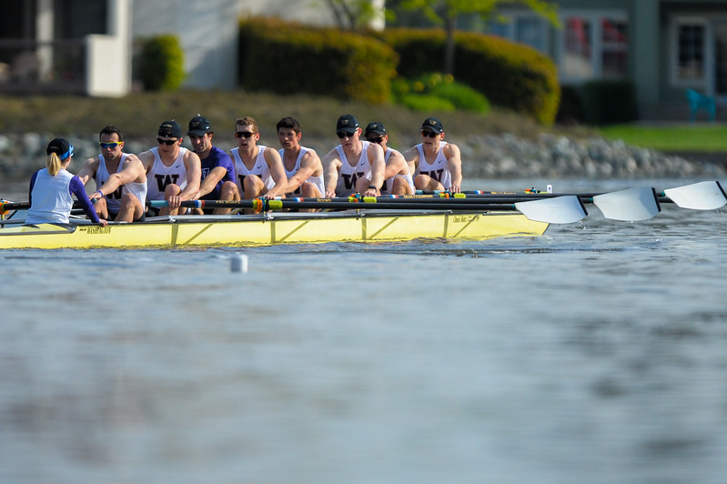 Washington Men's Rowing at the 2017 Stanford Invitational Row, 2017.