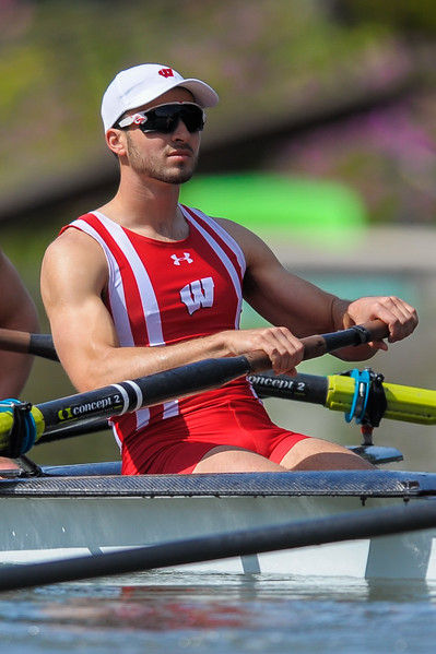 Wisconsin Men's Rowing at the 2017 Stanford Invitational Row, 2017.