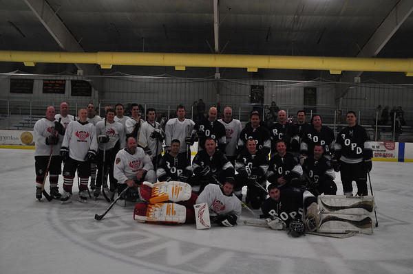 Royal Oak Guns vs Hoses Hockey Game 2014