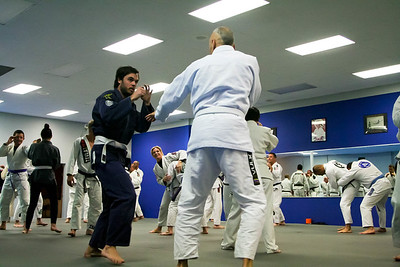 Royce Gracie Seminar Cooper MMA 11-2014