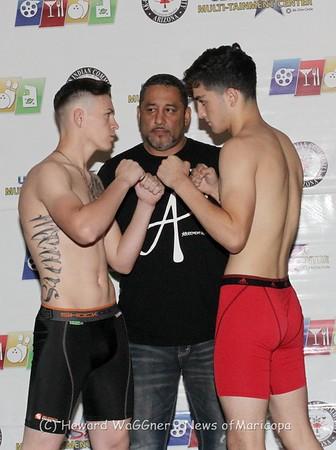 Ruf MMA Cage Fights At Ultrastar 9-23-17