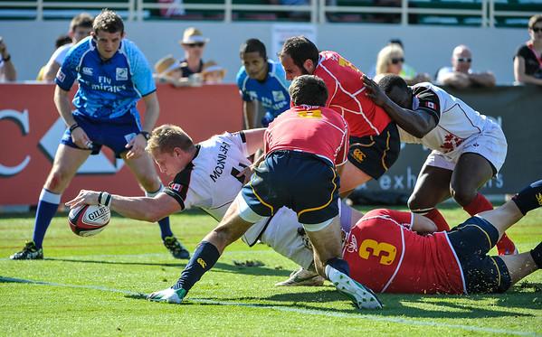 Mideast Emirates Dubai Rugby Sevens