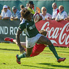 during the first day of the IRB Sevens World Series rugby tournament at the Emirates Airline Dubai Rugby Sevens in Dubai, UAE, Friday, Dec. 5th, 2014. Photo by: Stephen Hindley/Sportdxb/Photosport