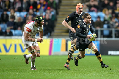 2017 Aviva Premiership Wasps v Leicester Dec 2nd