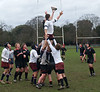 Line outs in the first half. ..We won some of theirs ....