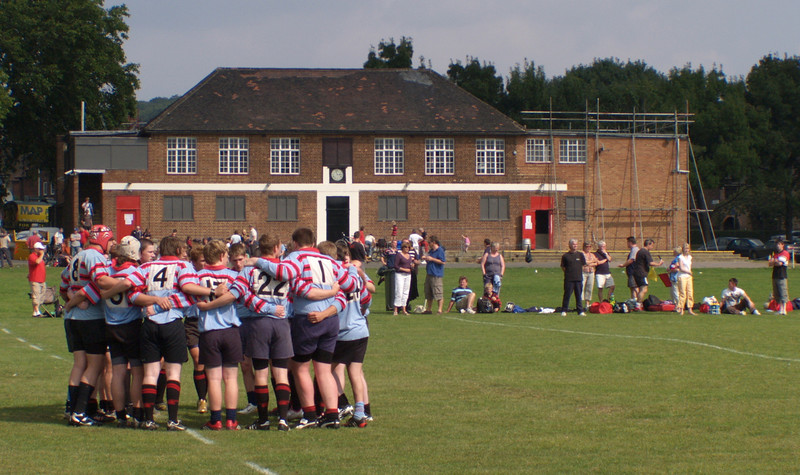 First game at Well Hall September 07