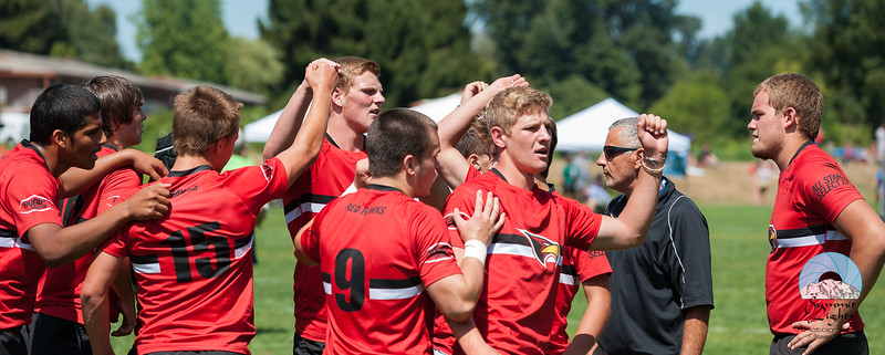 Rugby Washington Loggers A defeated Rugby Oregon Redhawks B 21-7 at Starfire Sports Stadium.