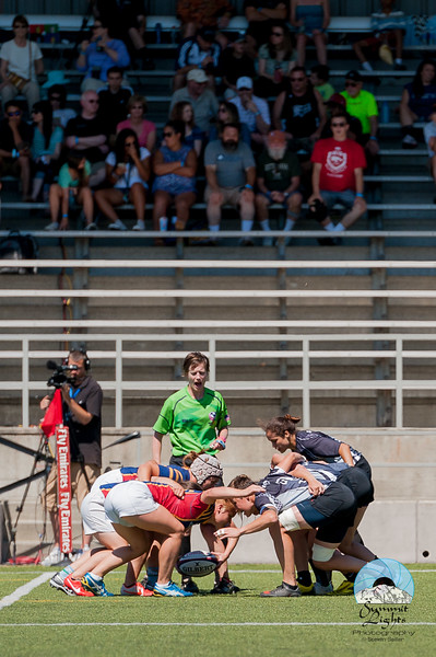 Chicago Lions defeated Oregon Sports Union 22-17 in the Women's Plate Final