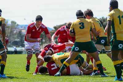 Rugby union game played between New Zealand Barbarians v Australia, on 30 September 2014, at Porirua Park, Wellington, New Zealand.  Final score 39 - 21 to NZ.