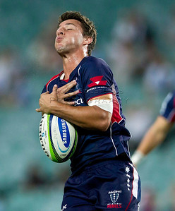 Super 15 NSW Waratahs v Queensland Reds; ANZ Stadium; 1 March 2014