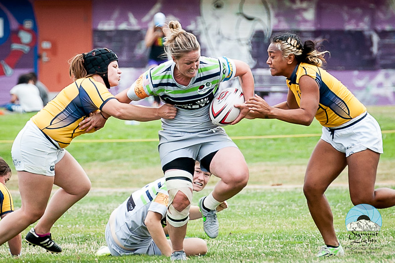 Action from the 38th Annual Tacoma Aroma Summers 7's Tournament on July 25, 2015 in Tacoma, Washington