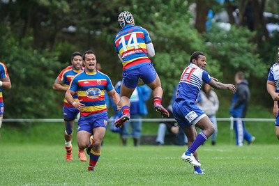 Swindale Shield rugby  game between Tawa Premiers and Norths Premiers,  played at Lyndurst Park, Tawa, New Zealand on 16 May 2015.  Game won 38-8 by Tawa.