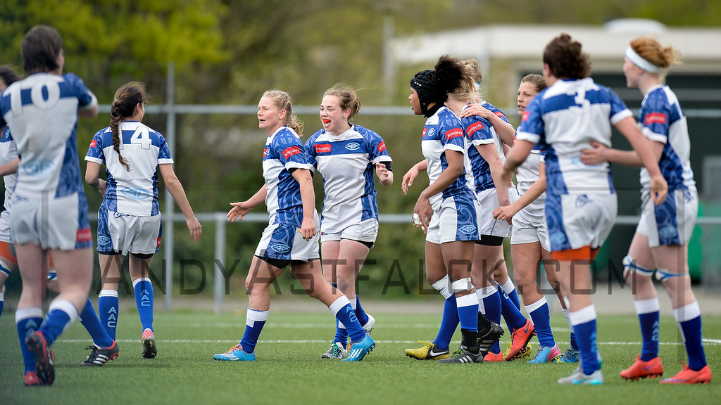 16-04-2016: Rugby: RUS v AAC Rugby: Amsterdam    Fotograaf Andy Astfalck