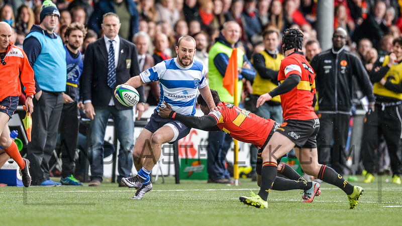 16-04-2016: Rugby: RC Hilversum v The Dukes : Amsterdam    Fotograaf Andy Astfalck