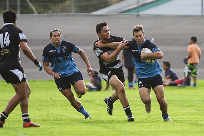 Rugby union match between College Old Boys v Wanderers  at Levibn Domain, Levin, New Zealand on 14 May 2016. Final score 60-8 to College Old Boys.