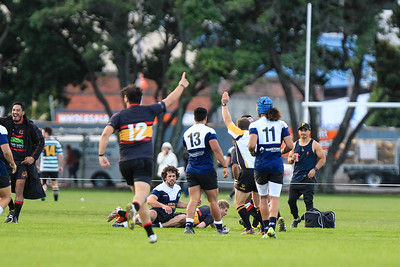 Swindale Shield Premiers Rugby union match between Petone v Paremata-Plimmerton at Petone Recreation Ground, Wellington, New Zealand on 21 May 2016. Final score 36-24 to Petone.